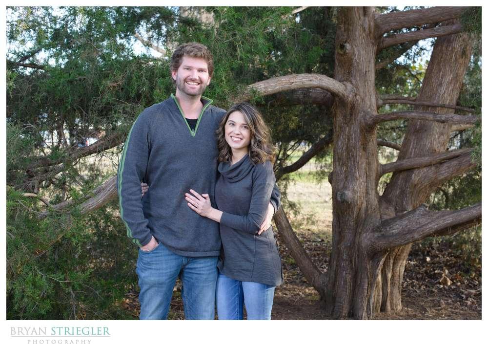 Post wedding portraits couple alone