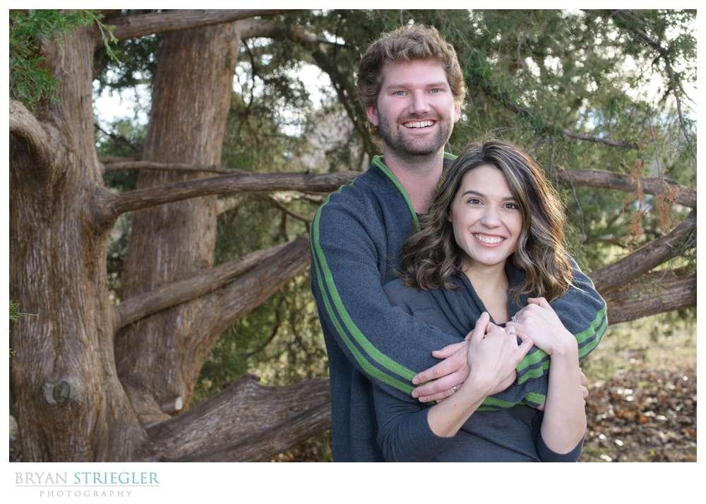 Post wedding portraits couple shot