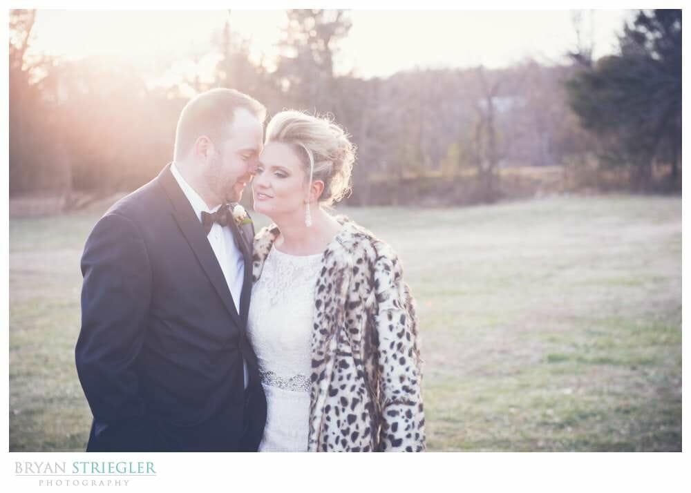 Fayetteville Wedding Photographer bride and groom sunspot