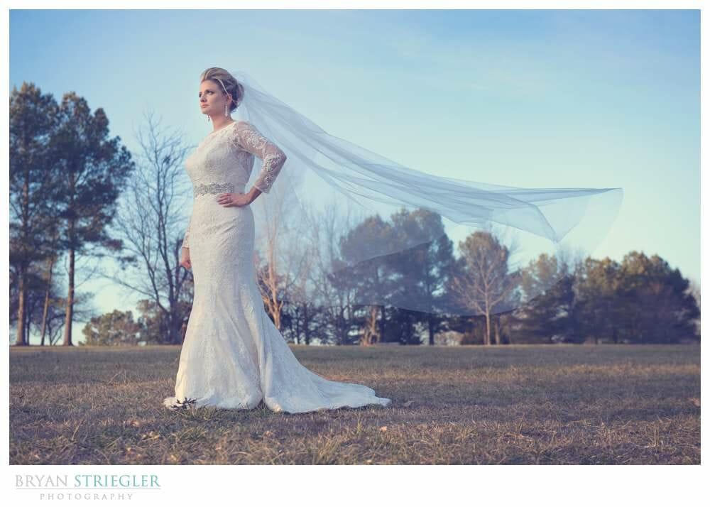 Profoto Acute B for Weddings bridal portrait