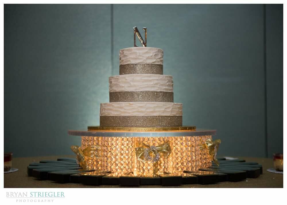 Fayetteville Wedding Photographer cake