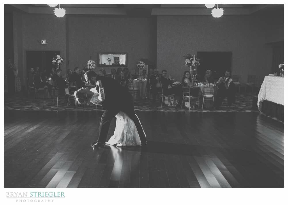 Fayetteville Wedding Photographer first dance