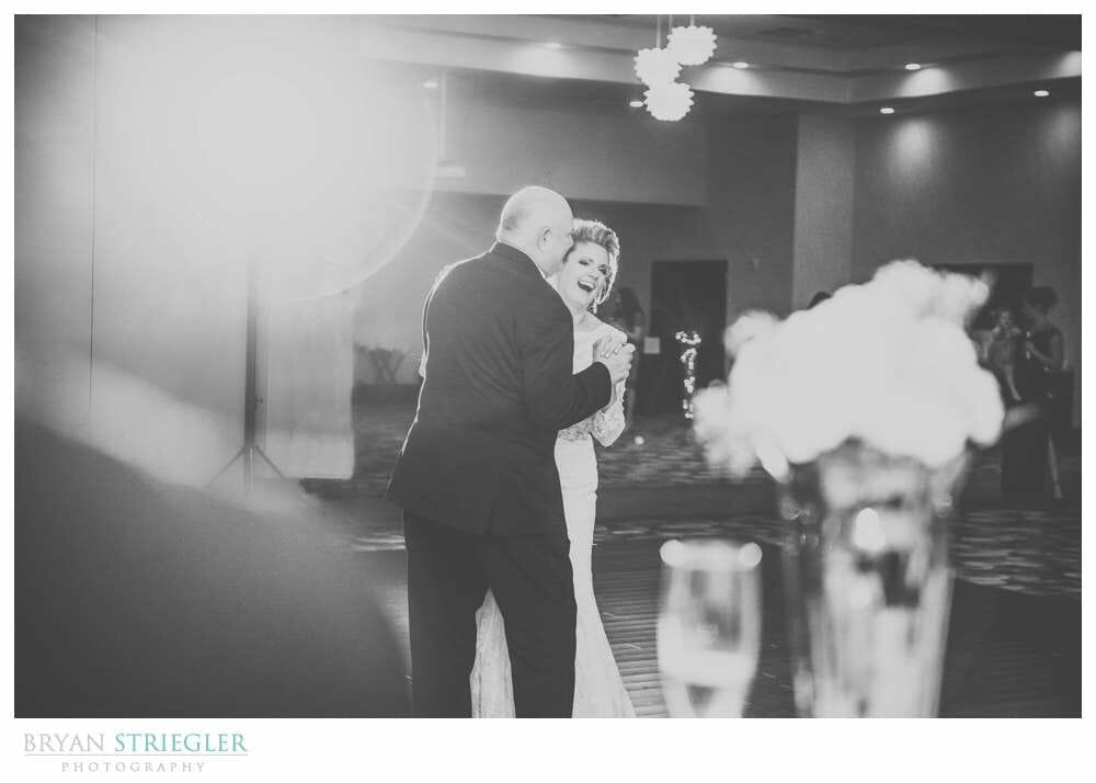 Fayetteville Wedding Photographer father daughter dance