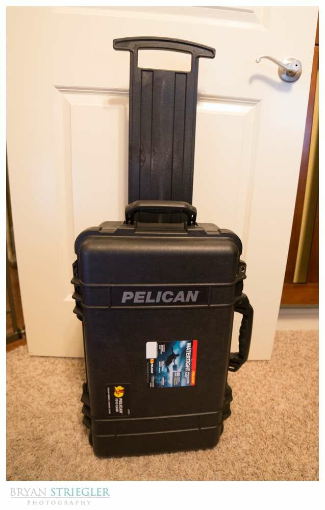 Pelican 1510 Case Review Vertical with handle