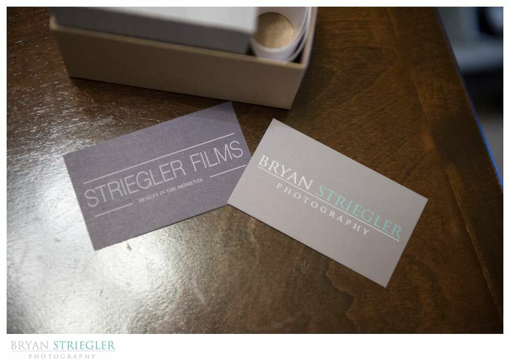 Miller's Lab for Wedding Photographers business cards
