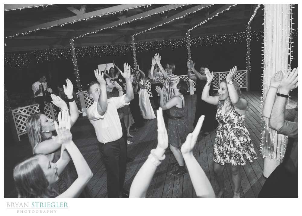 Magnolia Gardens people dancing