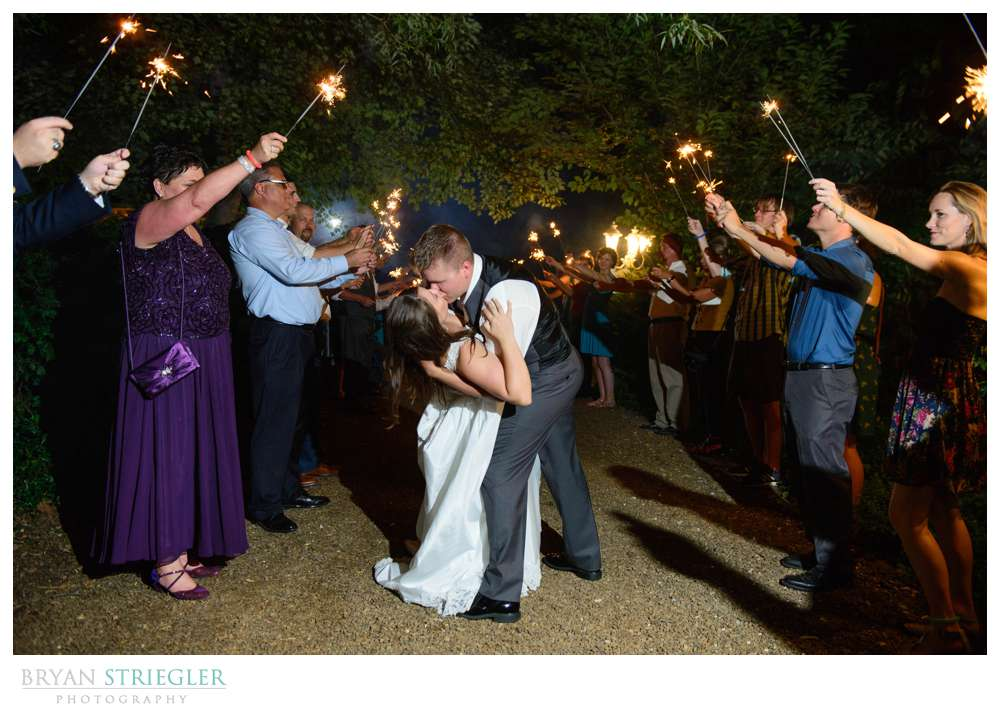Rachel and Austin's wedding at Magnolia Gardens