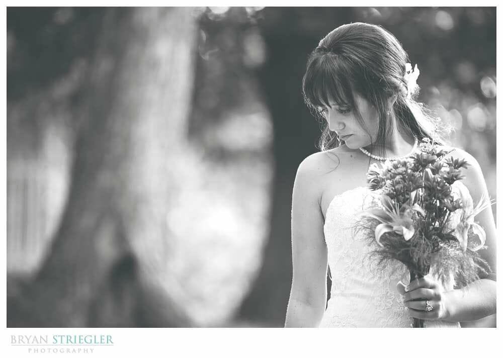 Bridal Portraits at Magnolia Gardens in Springdale
