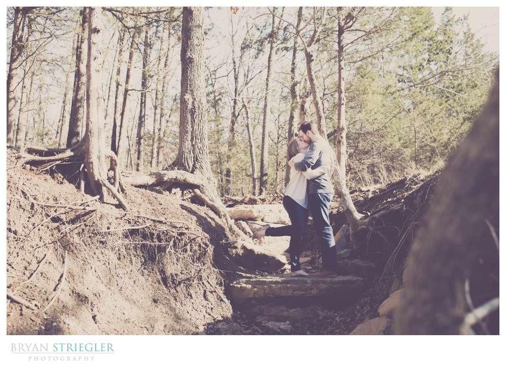 Justin and Cori's Outdoor Engagement Photos