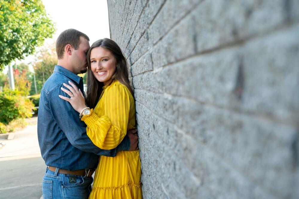 engagement photos at Sulphur Oklahoma