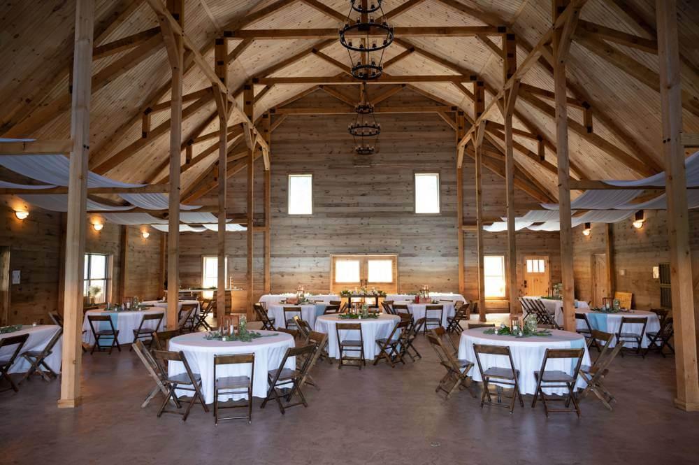 Inside Under the Woods Wedding Venue